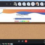 Managementul proiectului – Întalnire online